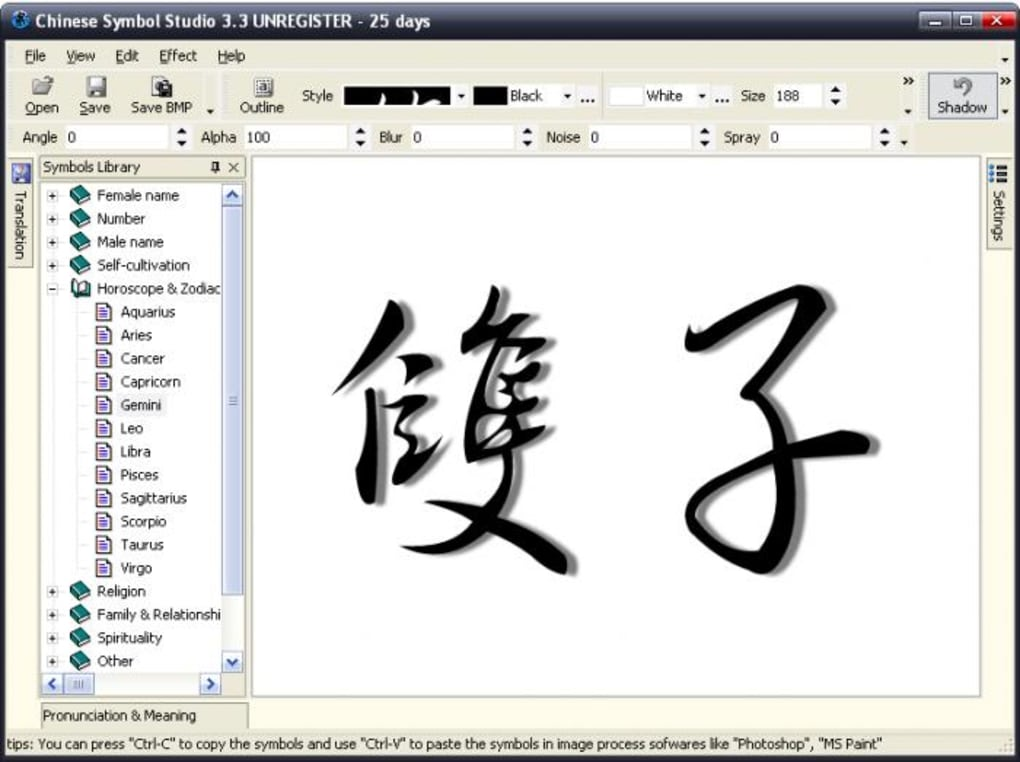 Chinese Symbol Studio - Download