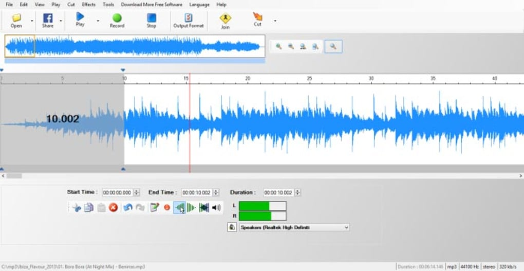 Simple MP3 Cutter Joiner Editor - Download