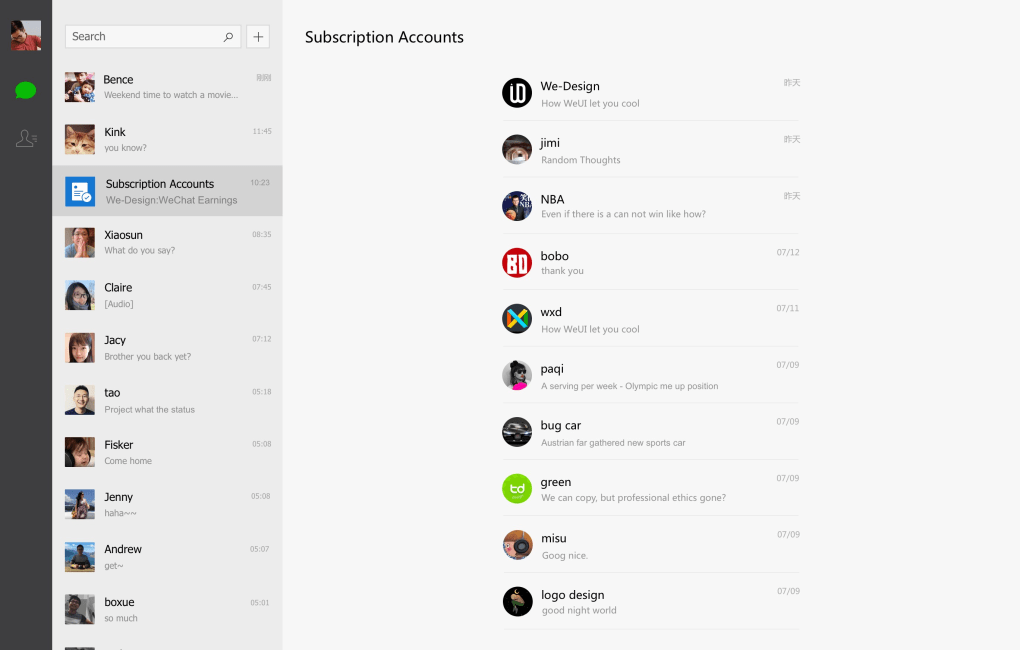 Wechat for windows 10 windows download softonic review reheart Choice Image