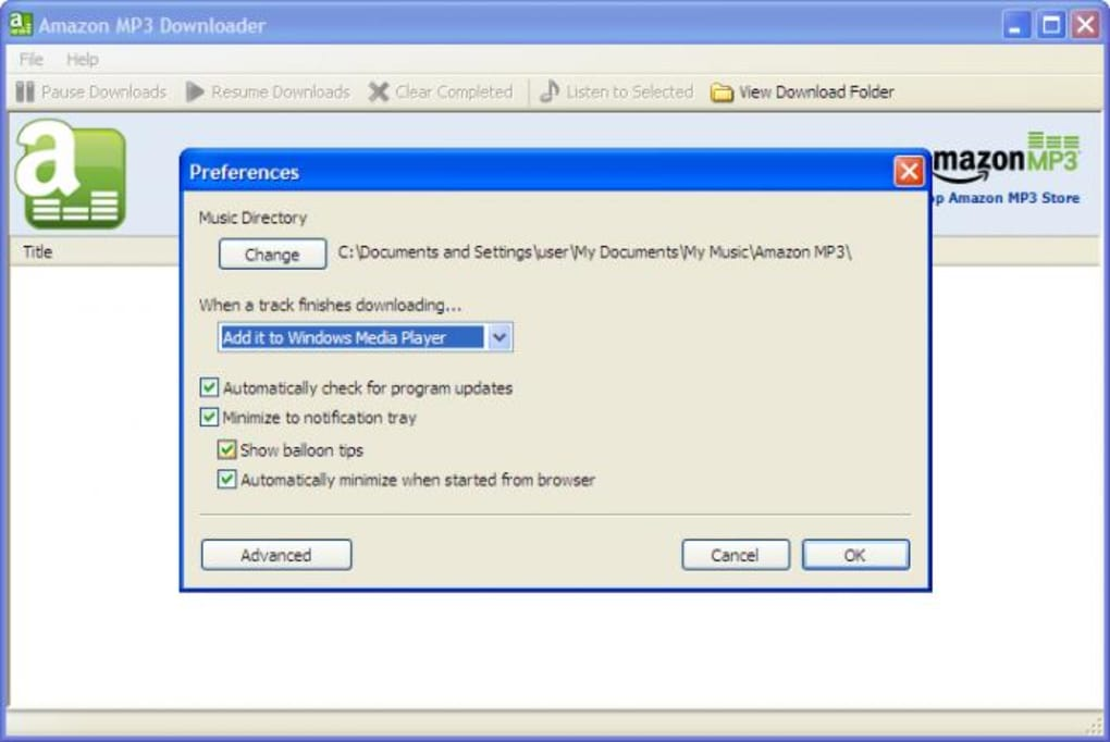 Amazon MP3 Downloader - Download
