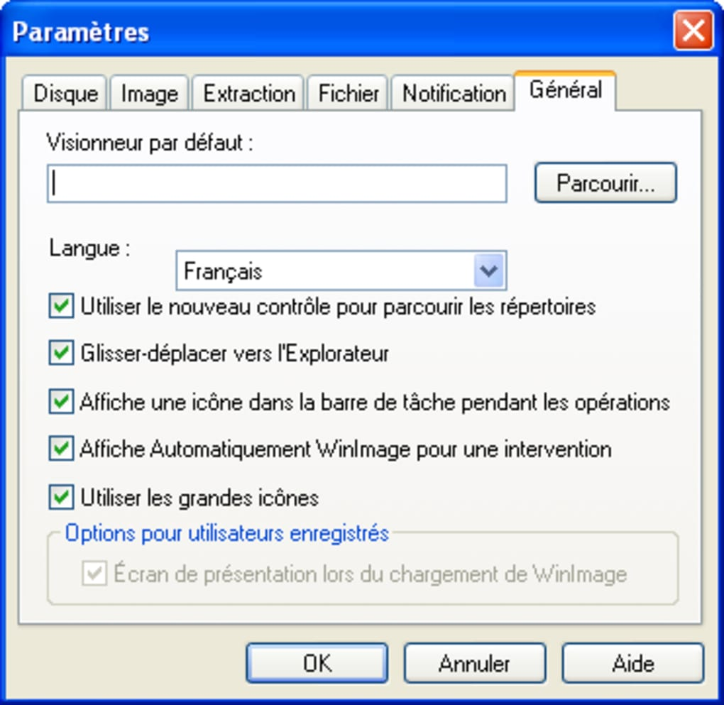WinImage - Télécharger