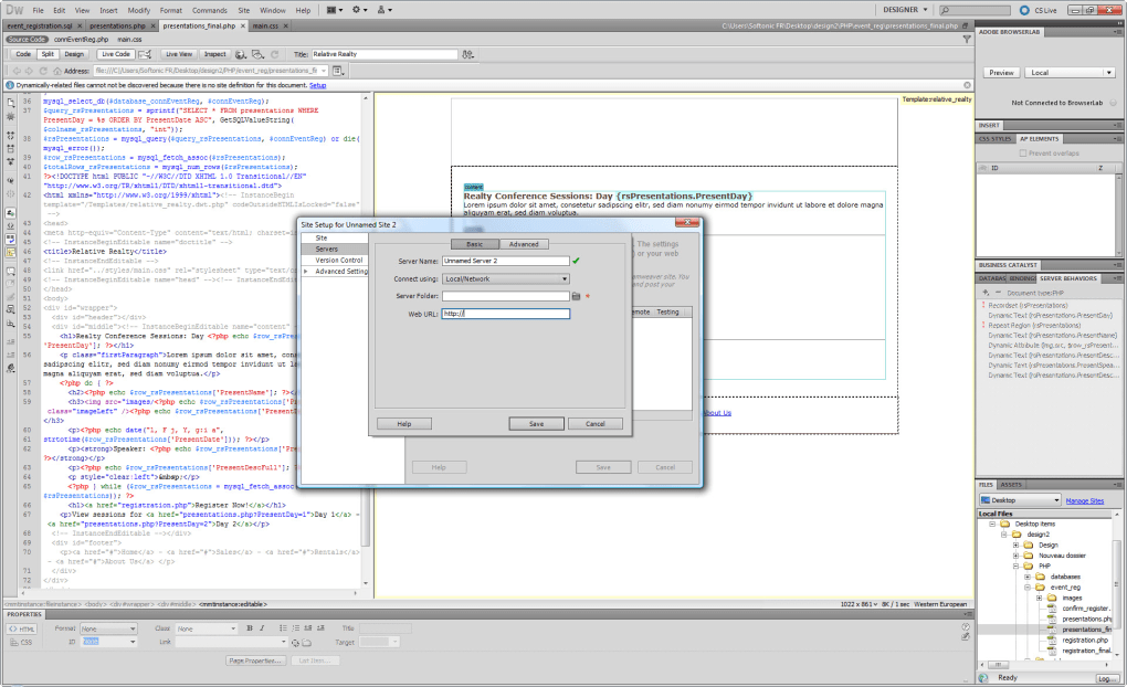 dreamweaver php download