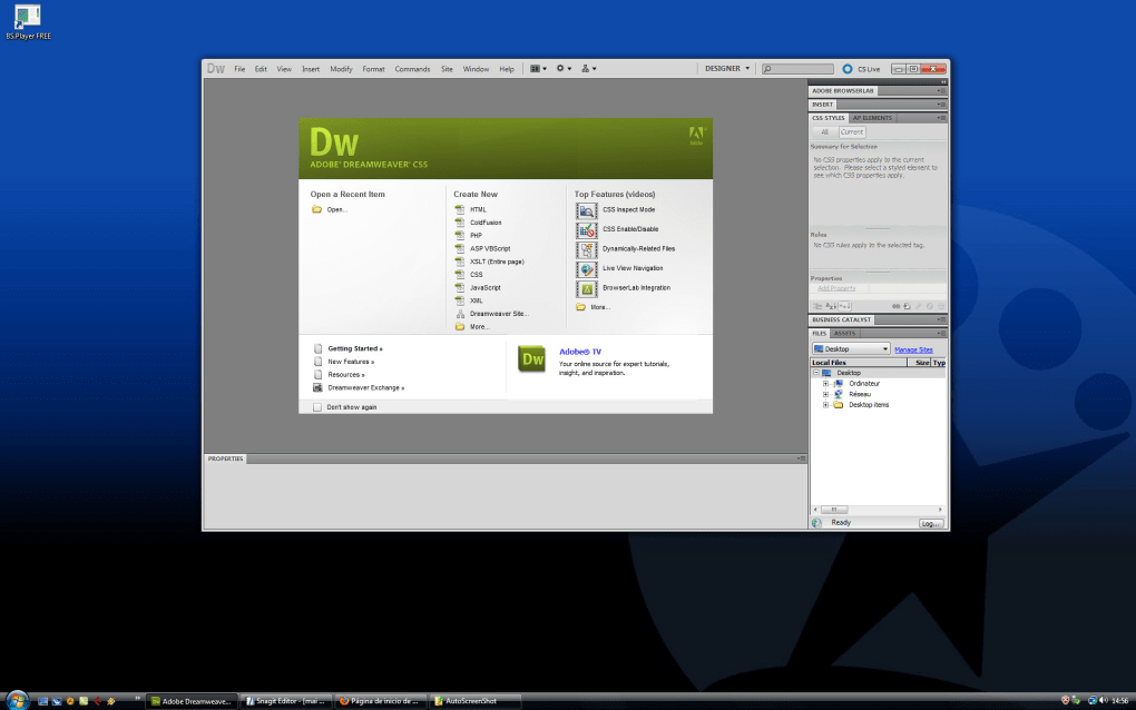 dreamweaver download free full version windows 7