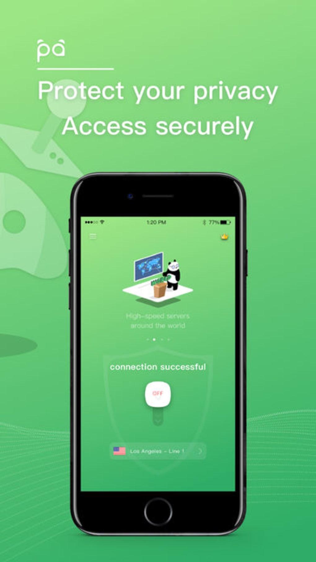 Panda VPN Pro لنظام iPhone - تنزيل