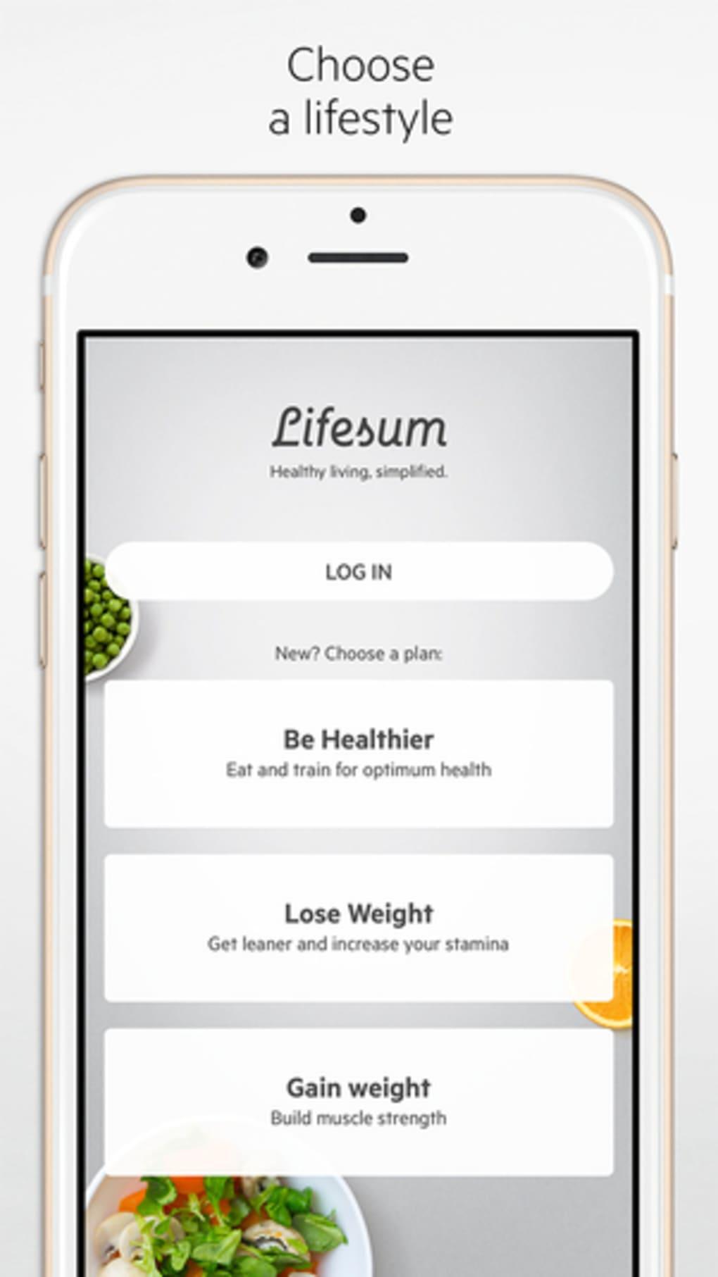 Lifesum – Diet Plan, Calorie Counter & Food Diary For PC (Windows & MAC)