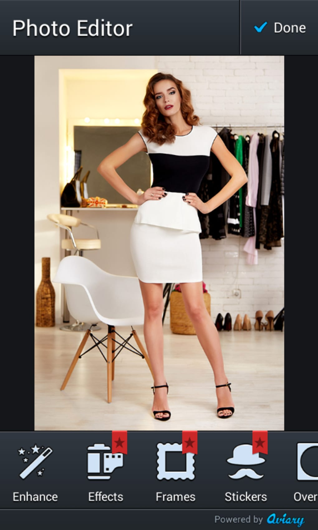 Women Short Dress Photo Editor for Android - Download