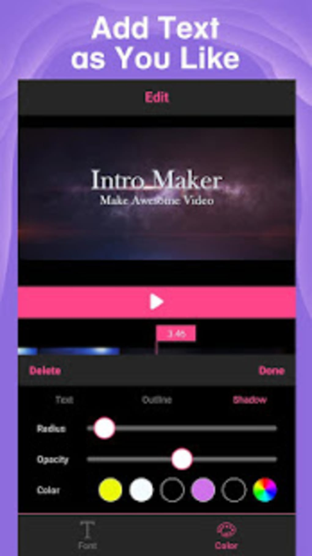 Intro Maker Intro Creator With Music For Youtube For Android Download