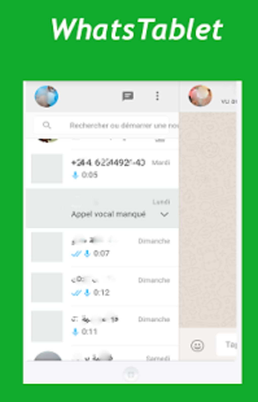 download whatsapp per tablet android