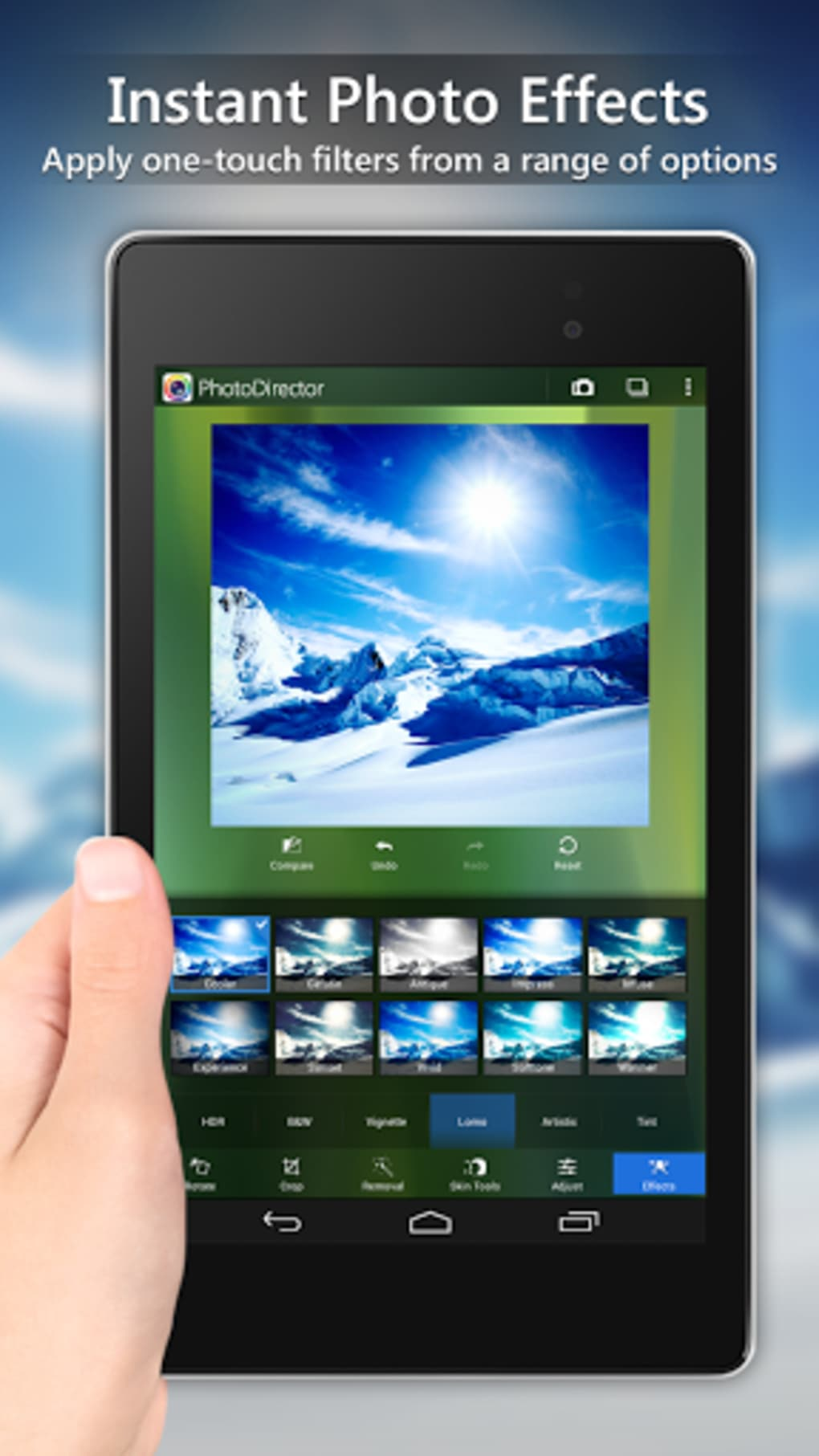 PhotoDirector Photo Editor App for Android - Download