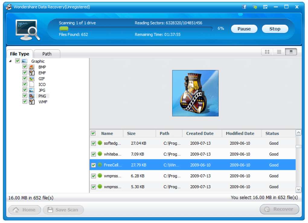 download wondershare data recovery wizard