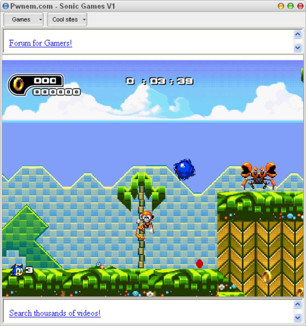 Sonic games t l charger - Telecharger sonic gratuit ...