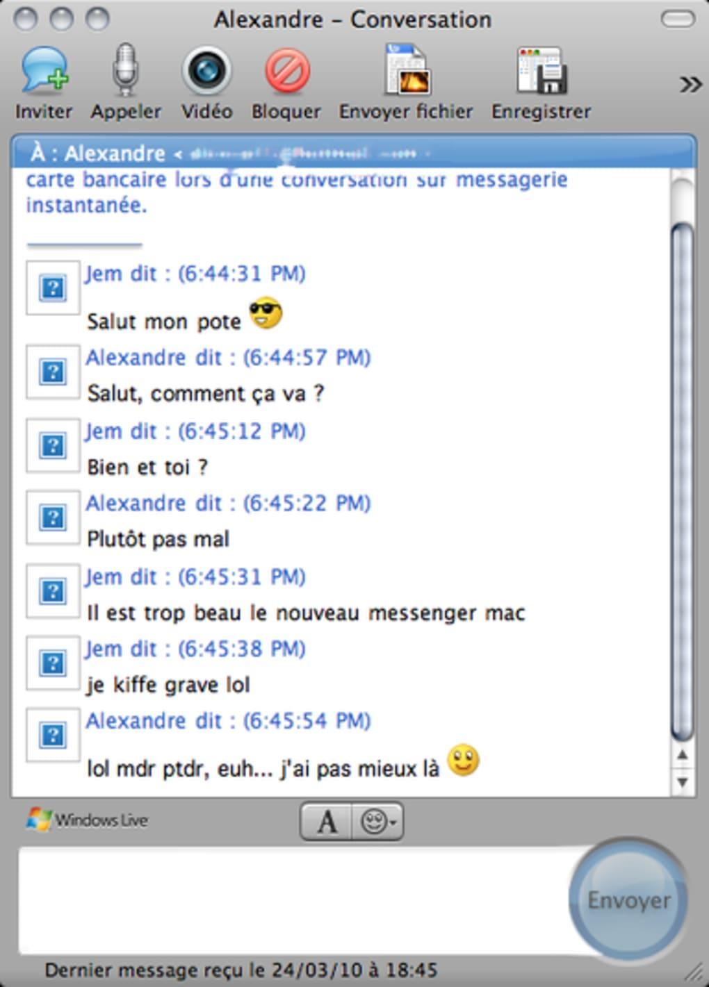 MSN 8.0.1 TÉLÉCHARGER MESSENGER