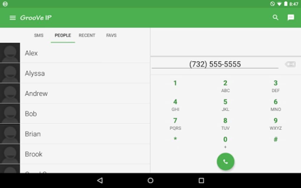 GrooVe IP VoIP Calls & Text