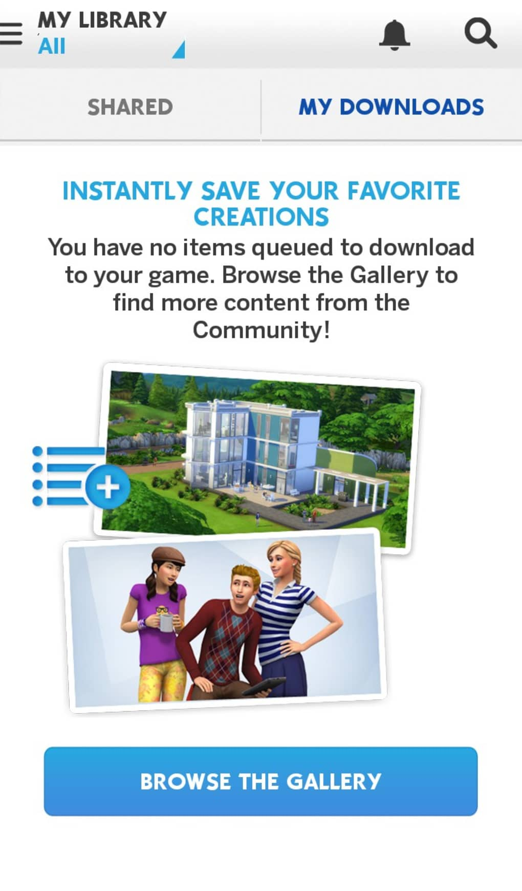 The Sims 4 Gallery for Android - Download