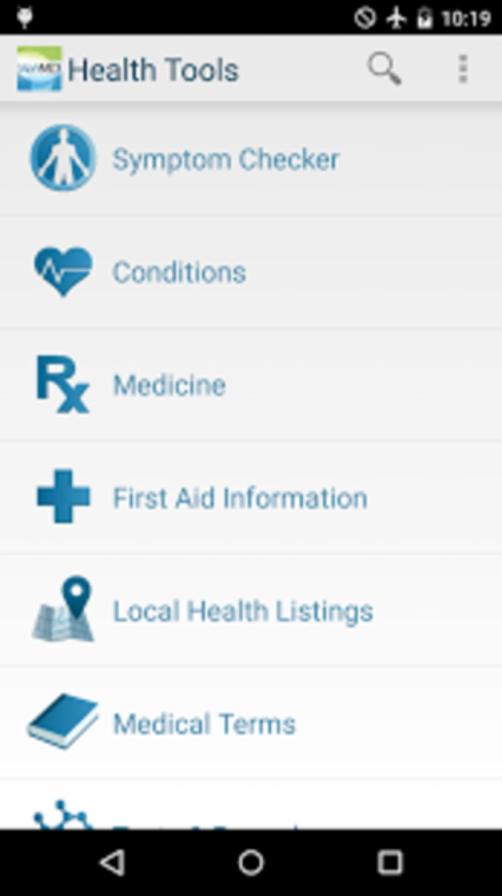 WebMD for Android - Download