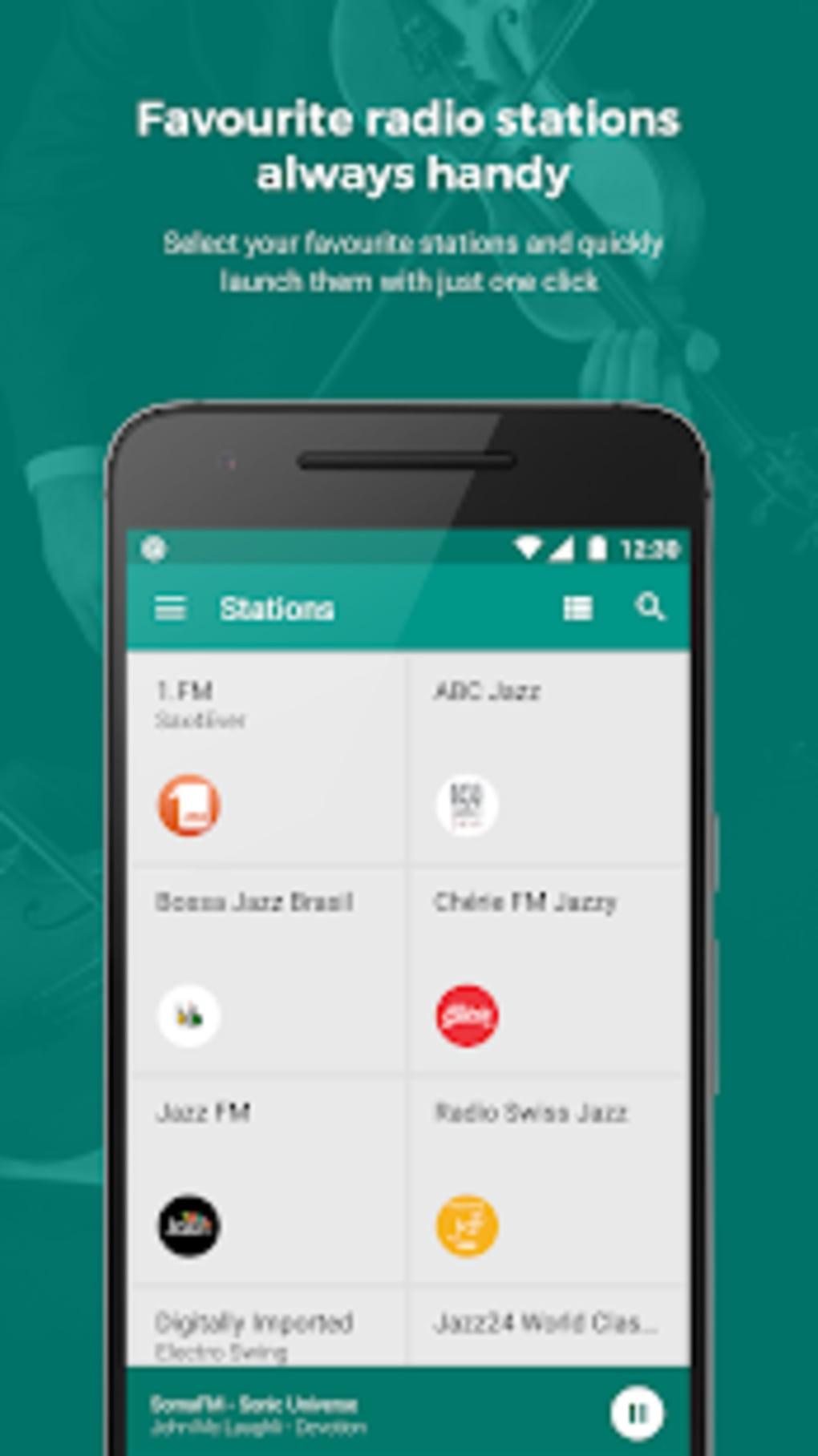 Internet Radio and Radio FM Online Replaio Radio for Android