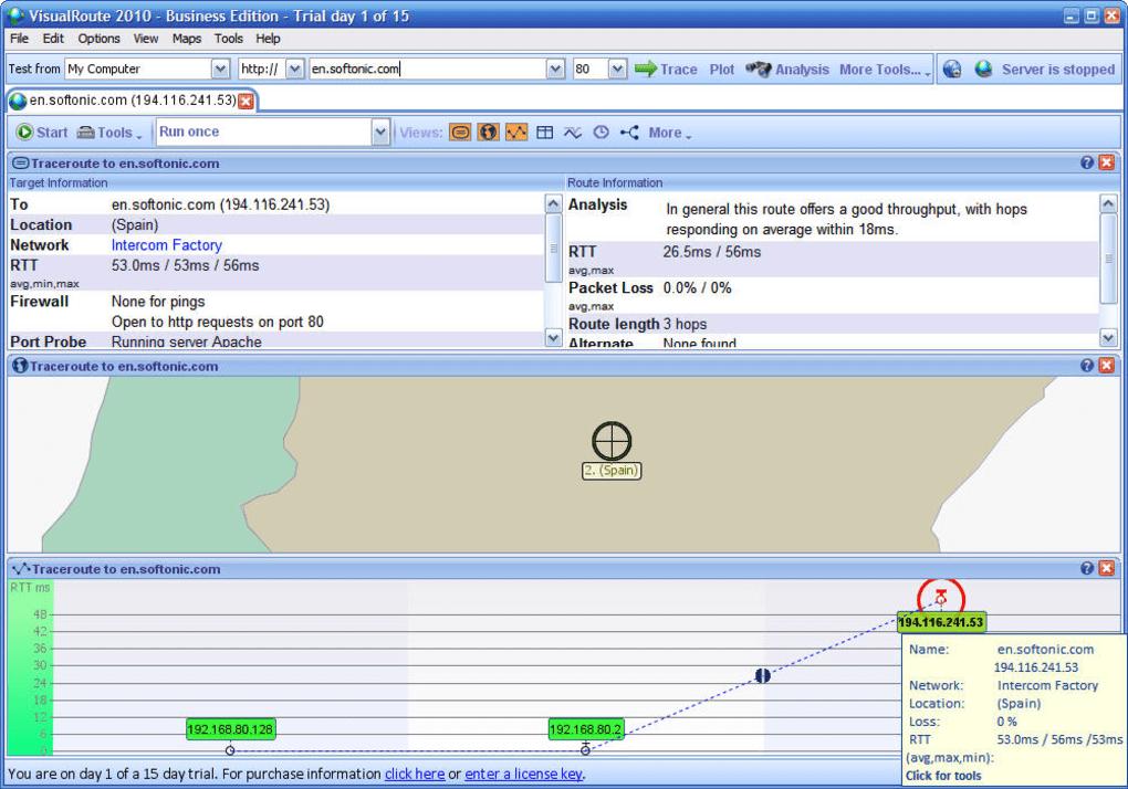 visualroute 2010 v14.0l license key