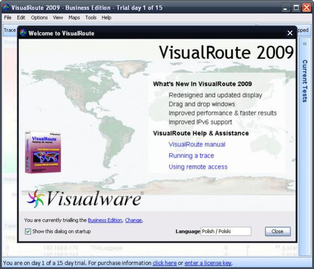 visualroute 2009