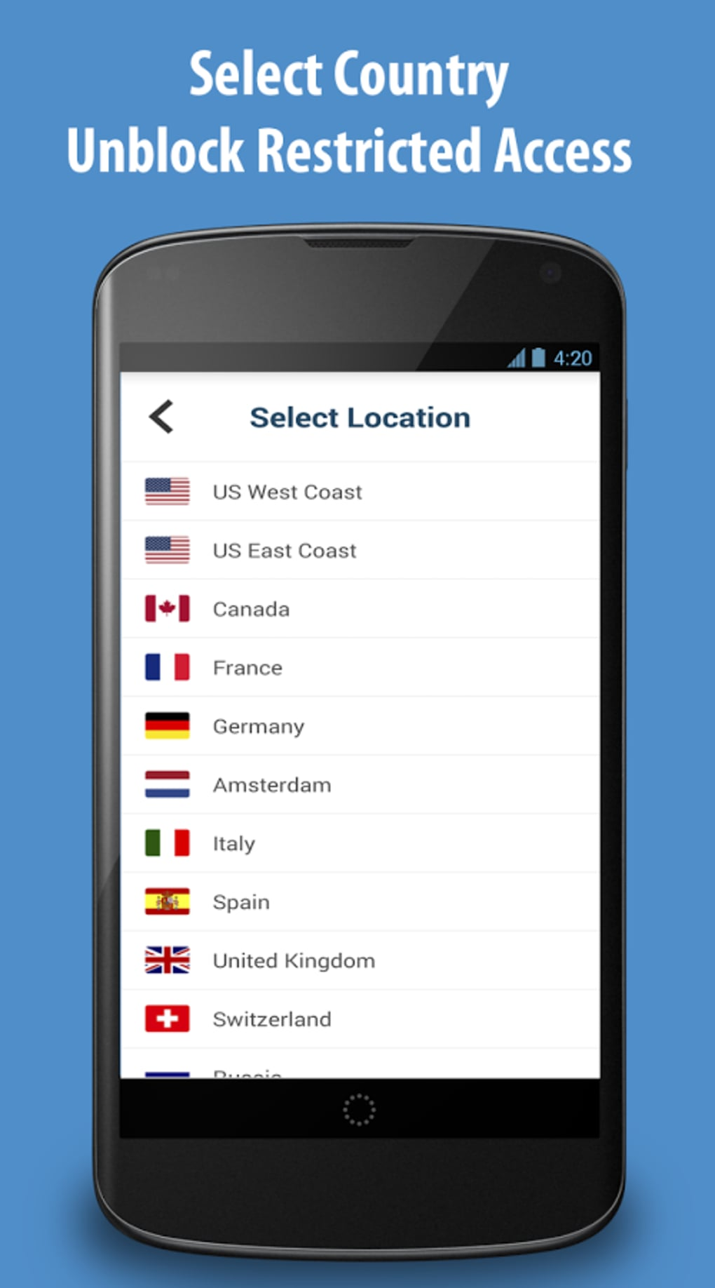 ZPN VPN Connect for Android - Download