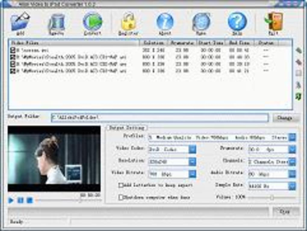 allok 3gp psp mp4 ipod video converter softonic