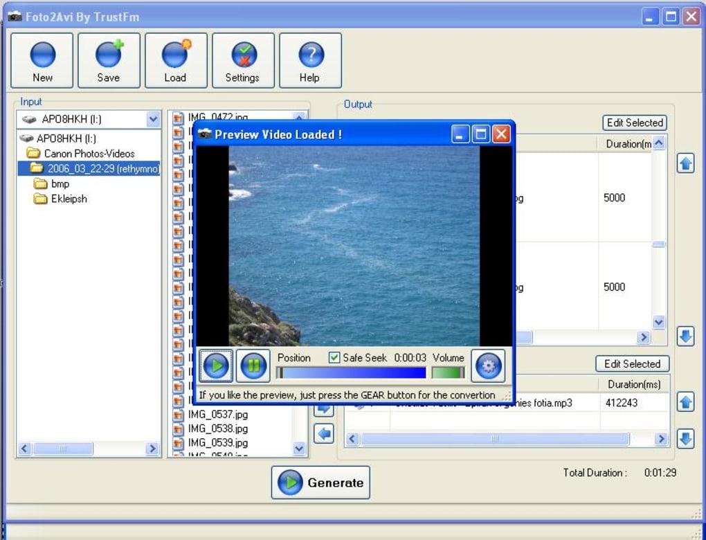 programa foto2avi