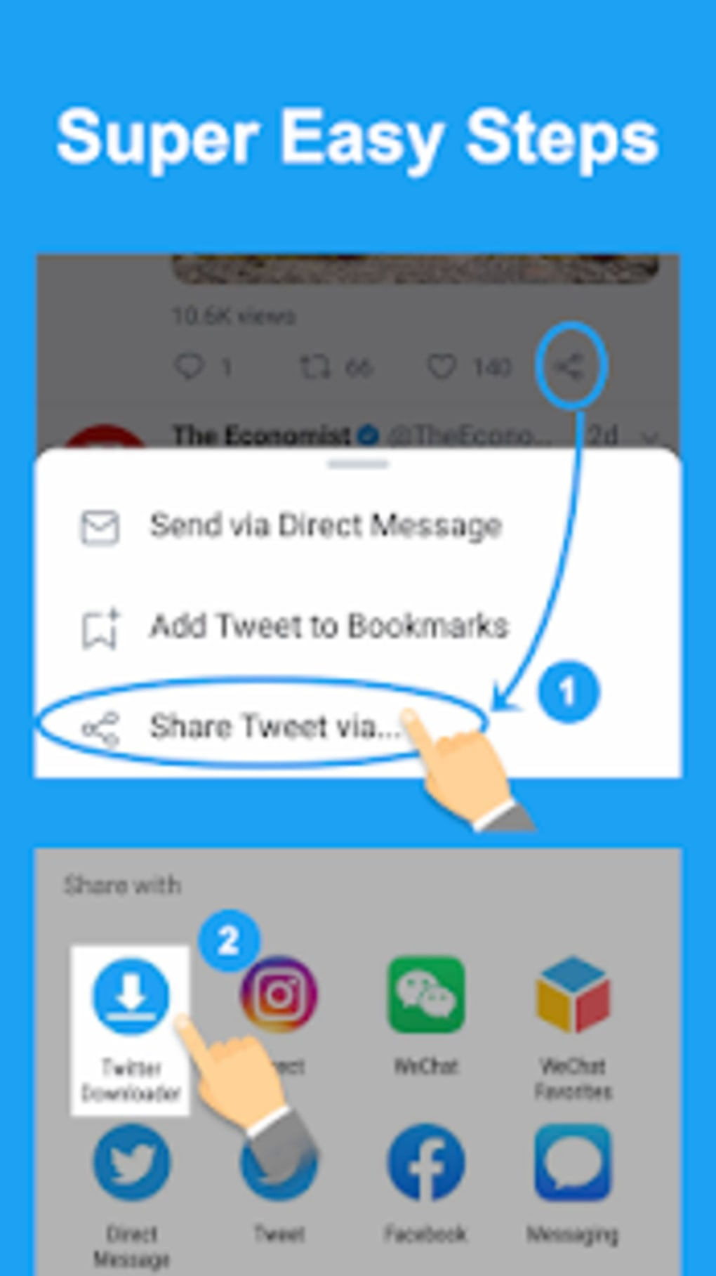 Download Twitter Videos - Save Twitter Video GIF for Android