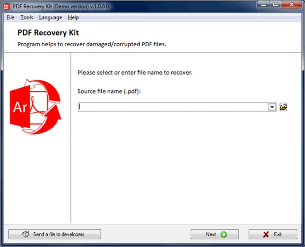 Corrupted Pdf File Recovery