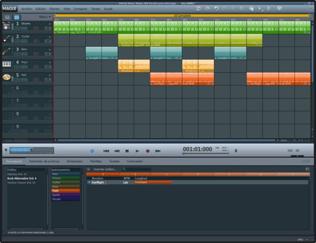 MAGIX Music Maker - Download