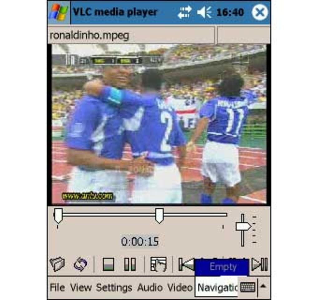 Pocket pc video player