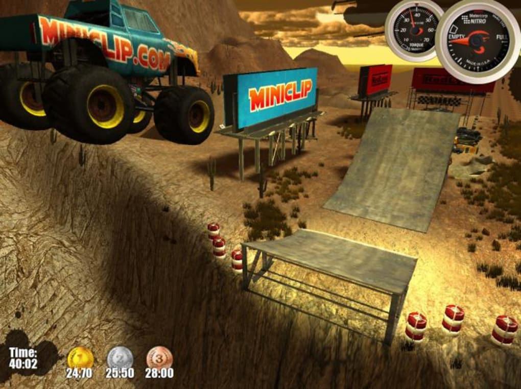 monster trucks nitro unblocked