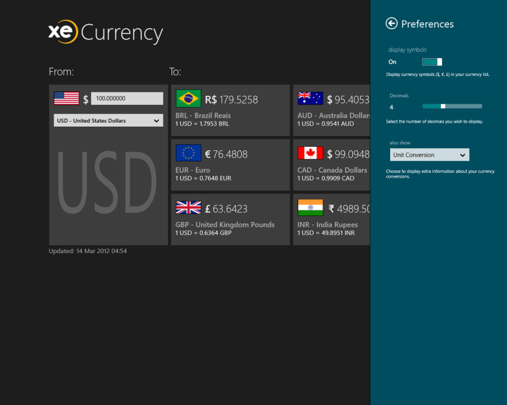 XE Currency for Windows 10 (Windows) - Download