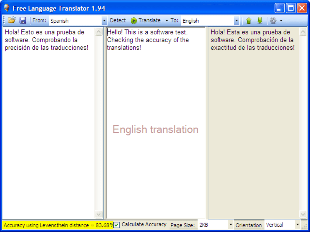 Free Language Translator - Download