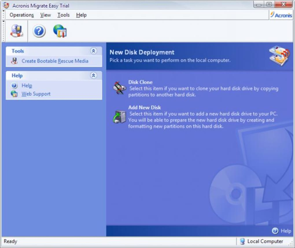 Acronis Migrate Easy - Download
