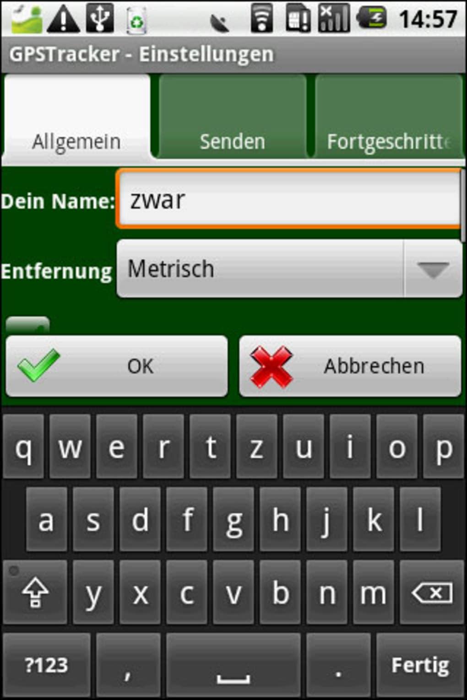 Smartphones orten via App
