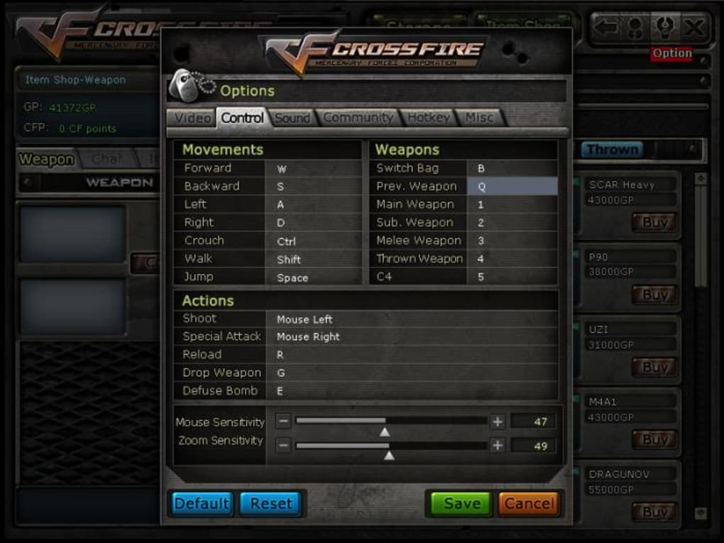 Crossfire for mac