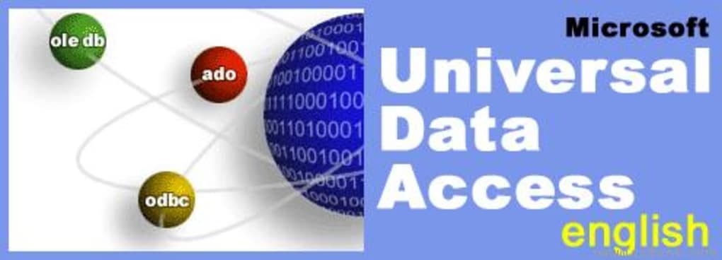 Microsoft Data Access Components (MDAC) 64Bit