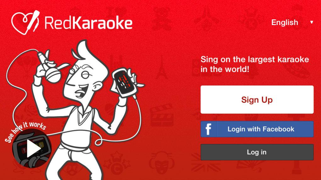 Red Karaoke Karaoke Singing App