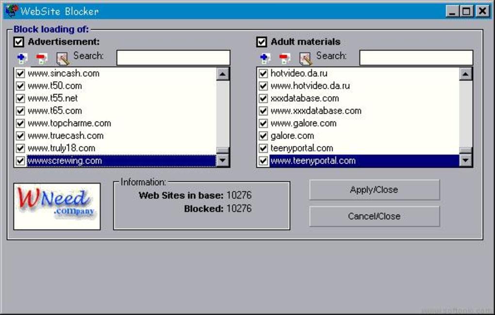 WebSite Blocker - Download
