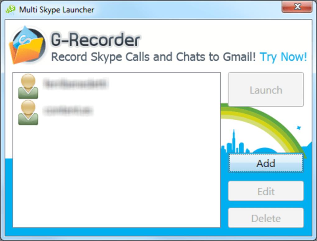 multi skype launcher clubic