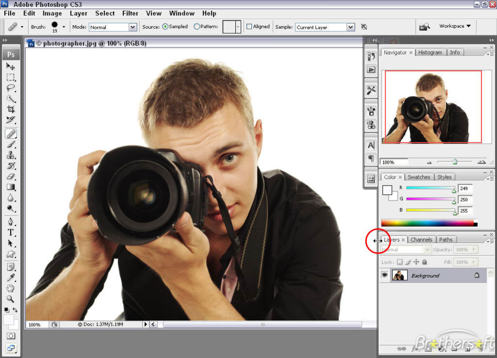 photoshop cs3 free software download full version