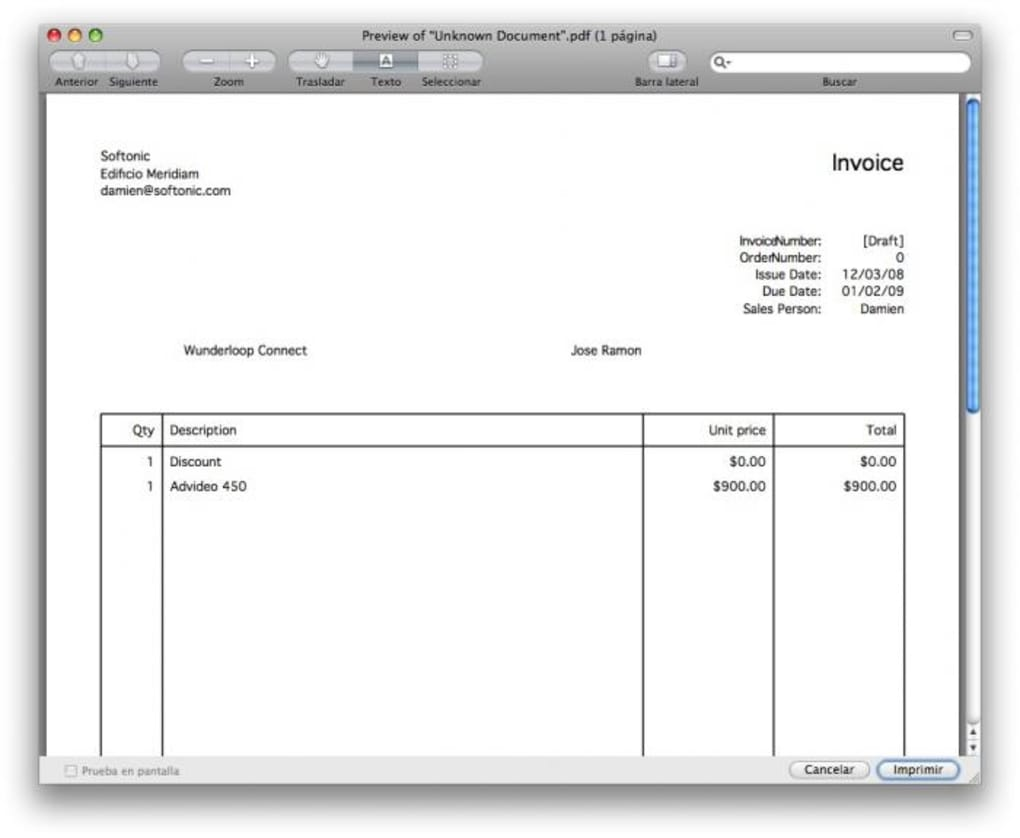 downloadable invoice template for mac  Express Invoice for Mac - Download