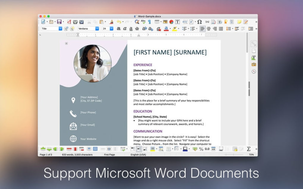 Doc Writer: Word Processor for Mac - Download