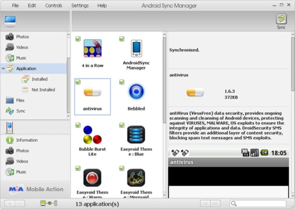 Download-Link kostenlos per SMS erhalten