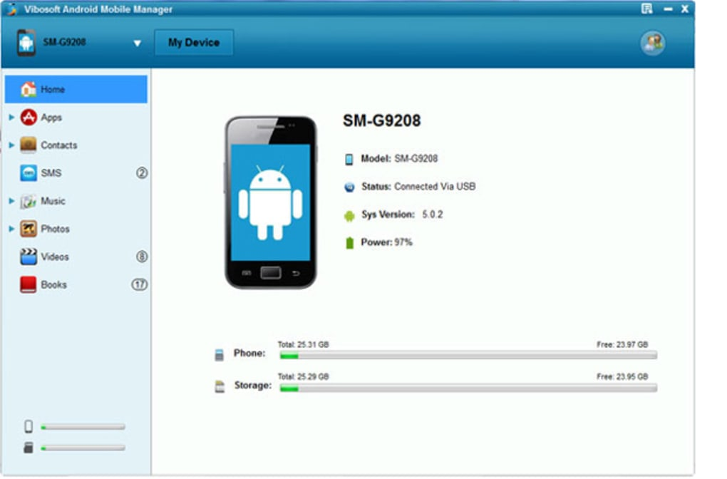 Vibosoft Android Mobile Manager (Windows 8/7/XP) (Windows