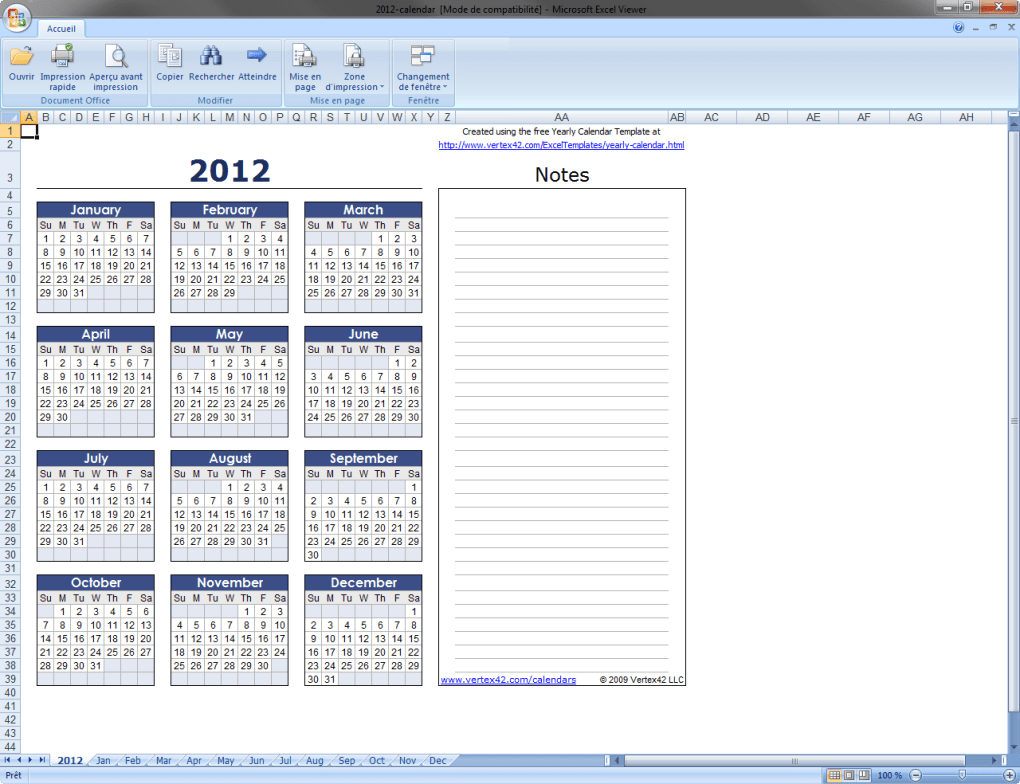 visionneuse excel 2013