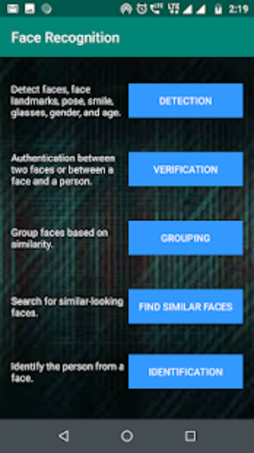 Face Recognition for Android - Download