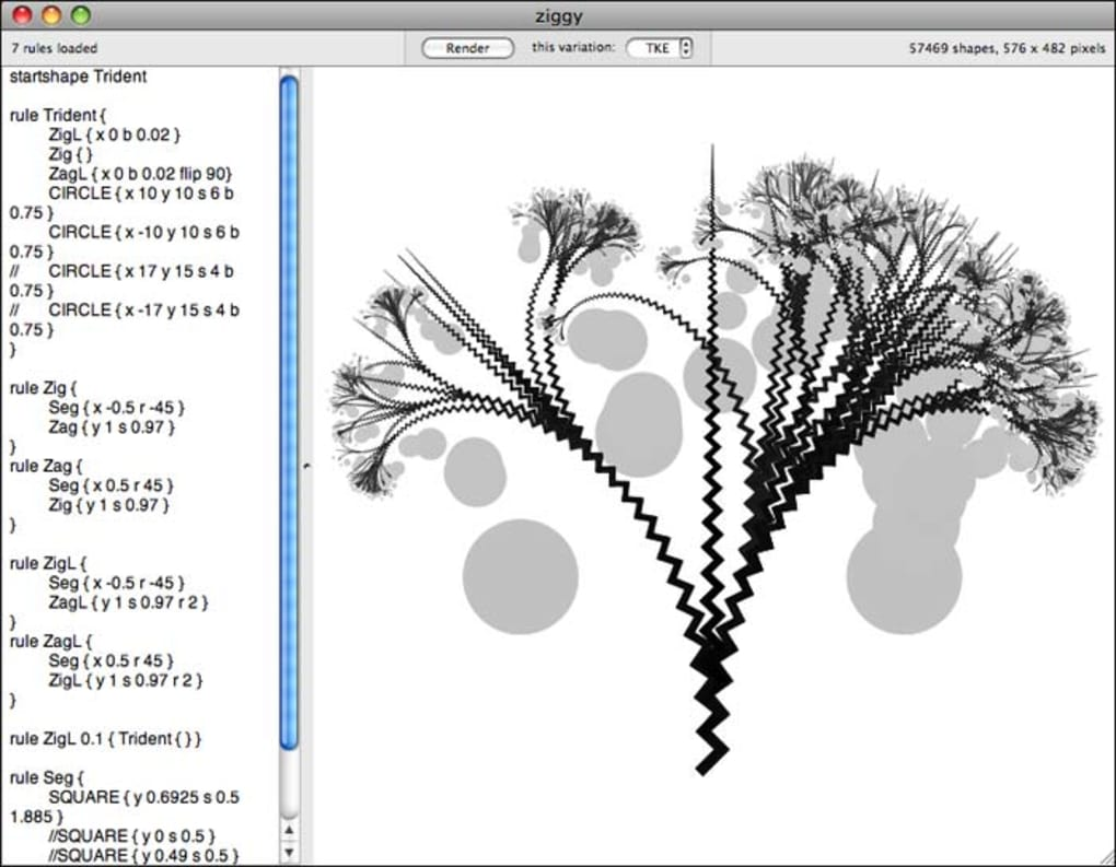 Context Free Art für Mac - Download