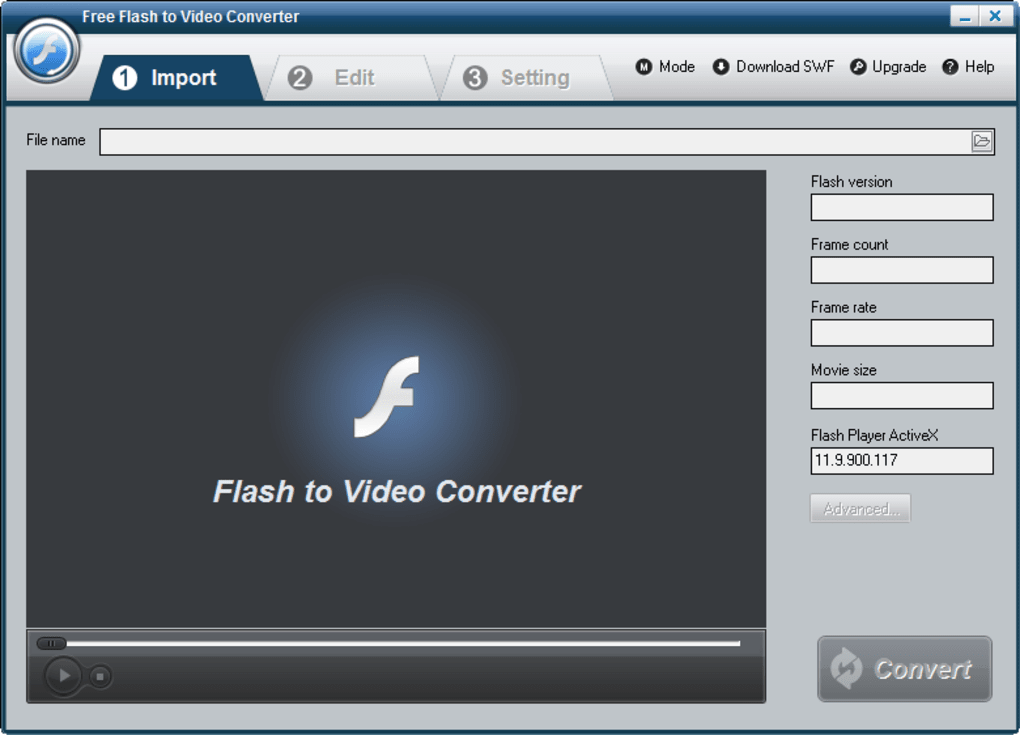 Free Flash to Video Converter - Download