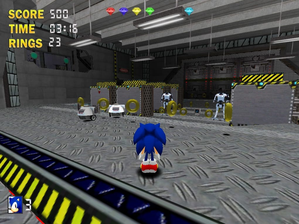 Sonic The Hedgehog 3d Download