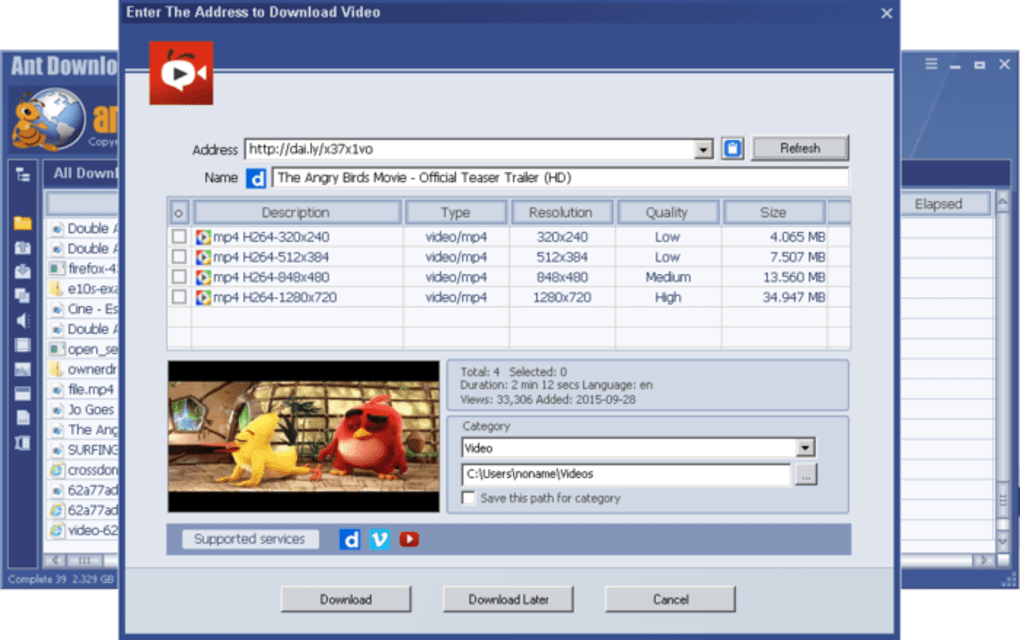 Ant Download Manager and Video Downloader - Download